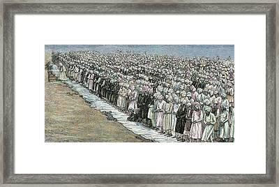 Mahommedan Festival Buckra Ede Or Framed Print