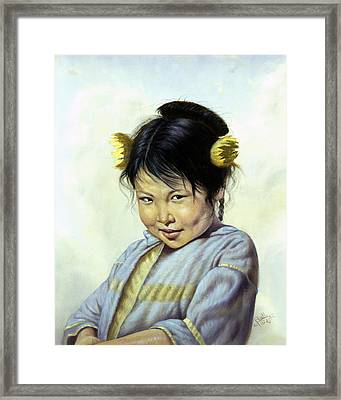 Mai Li Framed Print