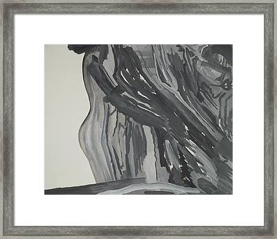 Maid In Maelstrom Framed Print by Peyton King