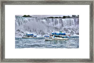 Maid Of The Mist Framed Print