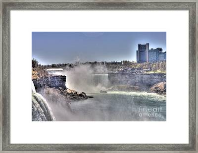 Framed Print featuring the photograph Maid Of The Mist by Jim Lepard