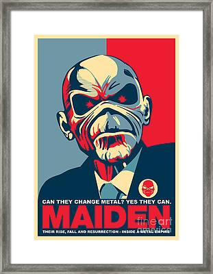 Maiden No.01 Framed Print by Caio Caldas