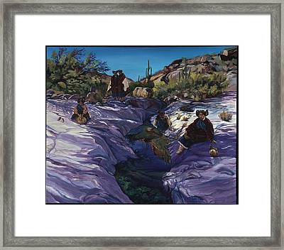 Maiden Pools Framed Print