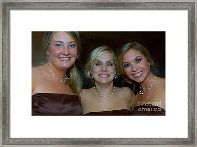 Maids Of Honor Framed Print