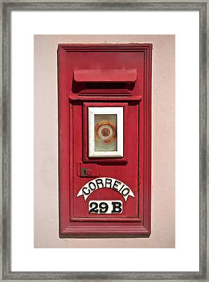 Mail Box 29b Framed Print by David Letts