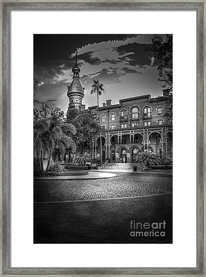 Main Entry Framed Print
