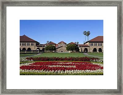 Main Quad Stanford California Framed Print