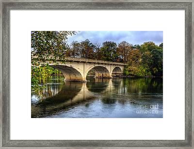 Main St Bridge Framed Print