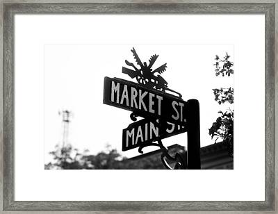 Framed Print featuring the photograph Main St Iv by Courtney Webster