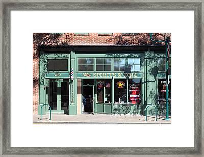Main Street Americana Pleasanton California 5d23985 Framed Print