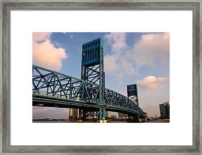 Main Street Bridge Framed Print by Chris Moore