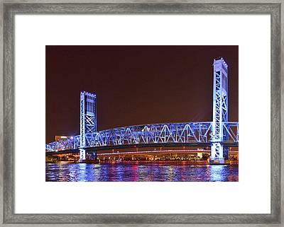 Main Street Bridge Jacksonville Framed Print