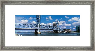Main Street Bridge, Jacksonville Framed Print by Panoramic Images