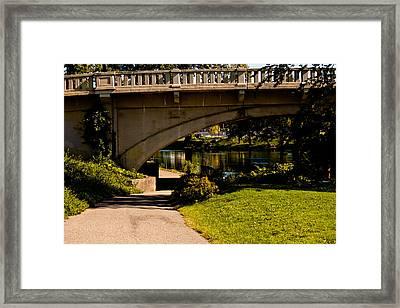 Main Street Bridge Niles Michigan 2013 Framed Print