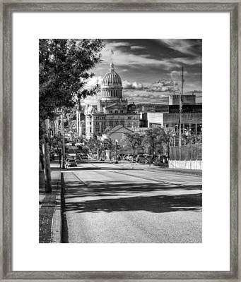 Main Street Framed Print by Coby Cooper