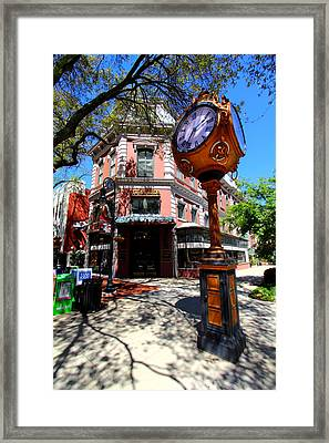 Main Street Columbia Framed Print