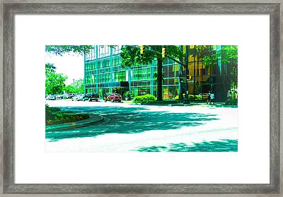 Main Street Framed Print by Philip Zion