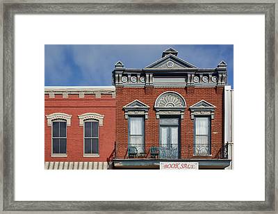 Main Street - Plattsmouth - Nebraska Framed Print by Nikolyn McDonald