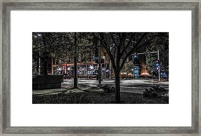 Framed Print featuring the photograph Main Street by Ray Congrove