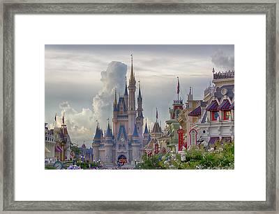 Main Street Usa Framed Print