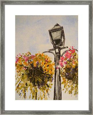 Main Street Framed Print by Valerie Lynch