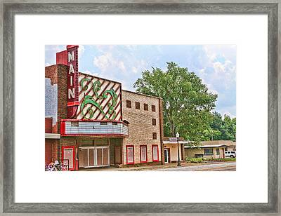 Main Theater Framed Print