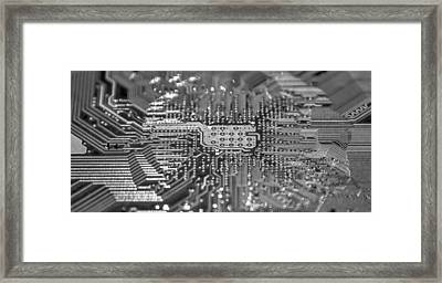 Mainboard Framed Print by Alex Hiemstra