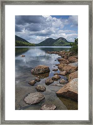 Maine Acadia Jordan Pond The Bubbles Framed Print