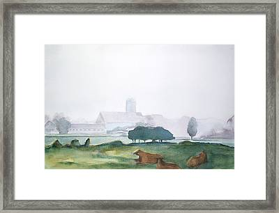 Maine Cathedral Framed Print