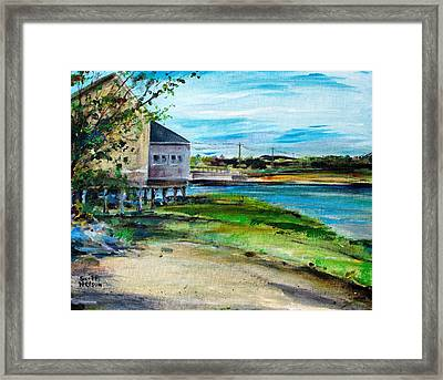 Maine Chowder House Framed Print