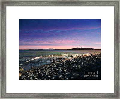 Maine Coastline #1 Framed Print