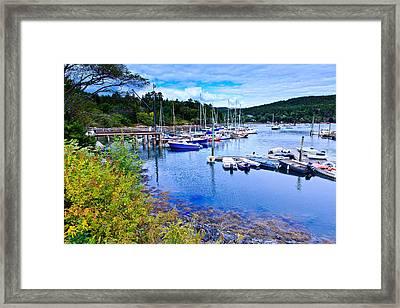 Maine Harbor 2 Framed Print