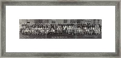 Maine High School, 1930 Framed Print by Granger
