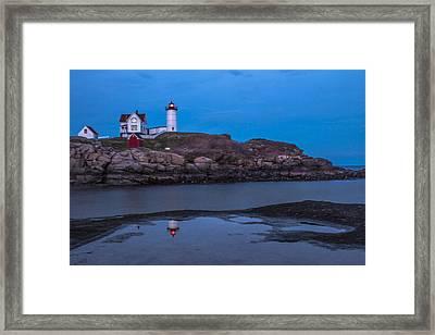 Cape Neddick Maine Lighthouse  Framed Print