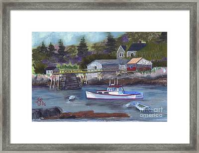 Maine Livin' Framed Print