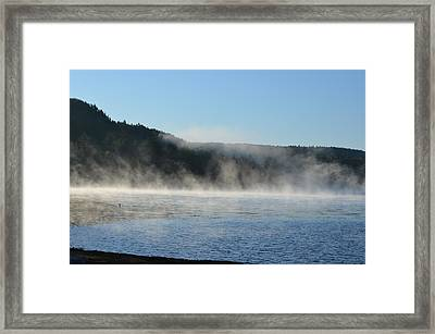 Framed Print featuring the photograph Maine Morning by James Petersen