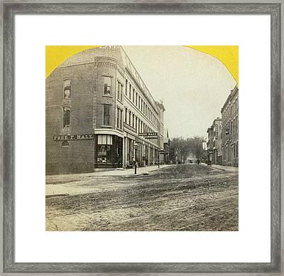 Maine Portland, C1871 Framed Print by Granger