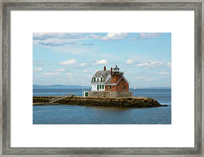 Maine, Rockland, Penobscot Bay Framed Print by Cindy Miller Hopkins
