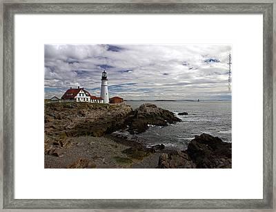 Maine Splendor Framed Print