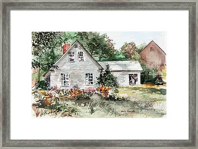 Maine Sunshine Framed Print
