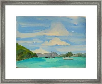 Maine Framed Print by Valerie Lynch
