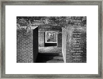 Maine's Fort Knox Framed Print