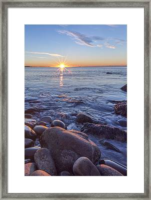 Mainly Water Framed Print