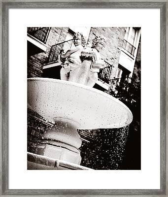 Maison Dupuy Framed Print
