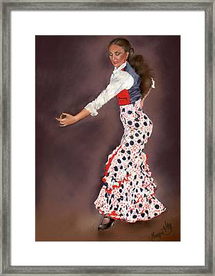 Maite Framed Print by Margaret Merry
