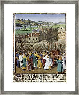 Maitre Du Boccace De Munich  2nd Half Framed Print by Everett