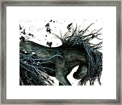 Majestic Abstract Horse Framed Print