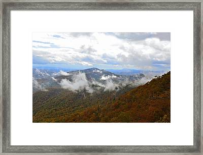 Majestic Autumn Framed Print by Susan Leggett