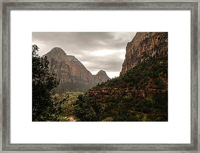 Majestic Framed Print by Carl Nielsen