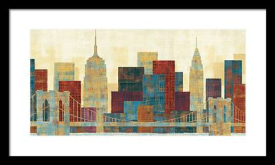 Skyline Framed Prints